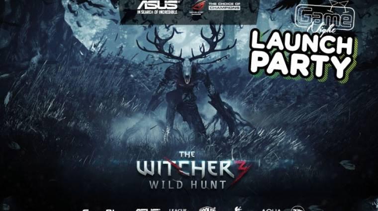 The Witcher 3: Wild Hunt Launch Party - vajákoljatok velünk bevezetőkép