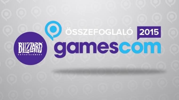 Gamescom 2015 - Blizzard sajtókonferencia összefoglaló bevezetőkép