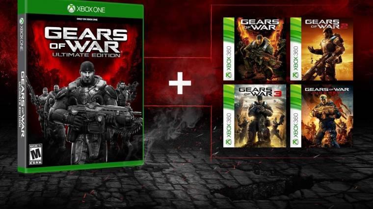 Gears of War Ultimate Edition - aki megvette, megkapja az előző részeket is bevezetőkép