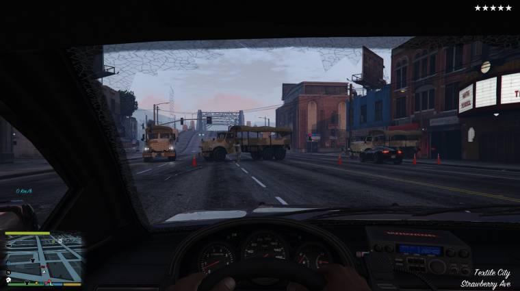 Grand Theft Auto V - ezzel a moddal élmény szembeszállni a zsarukkal bevezetőkép