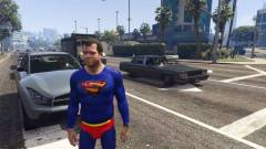 Grand Theft Auto V PC mod - eljött Superman ideje kép