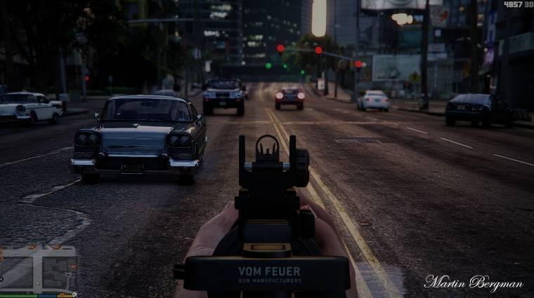 Grand Theft Auto V - ezzel a moddal lesz fotorealisztikus bevezetőkép