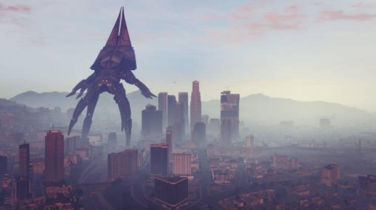 Grand Theft Auto V - Reaperre cseréli a léghajókat egy mod (videó) bevezetőkép