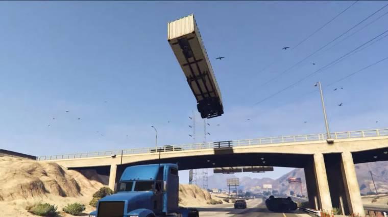 Grand Theft Auto V - ahogy ez a srác kocsikat reptet, attól eldobod az agyad! bevezetőkép
