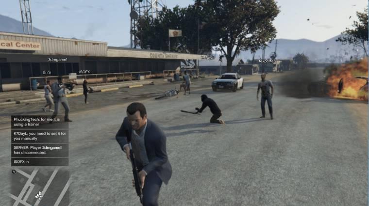 Grand Theft Auto V - működik, de közel sem tökéletes a kooperatív mod (videó) bevezetőkép