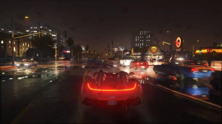 Gyönyörű a Grand Theft Auto V a 4K-s Ultimate Moddal bevezetőkép