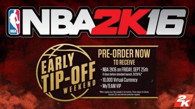 NBA 2K16 - a megjelenési dátum előbb jött, mint bármi más bevezetőkép