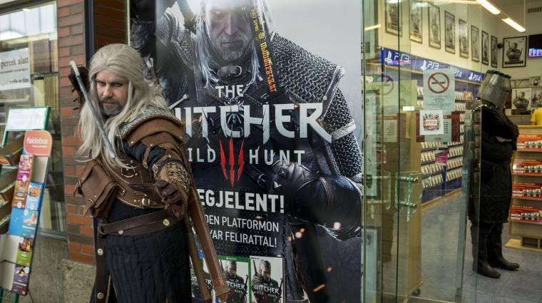 Ilyen volt a The Witcher 3: Wild Hunt megjelenés a Witcher-boltban bevezetőkép