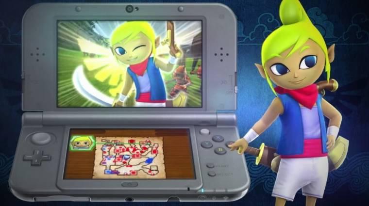 E3 2015 - Hyrule Warriors Legends a 3DS új sztárja bevezetőkép