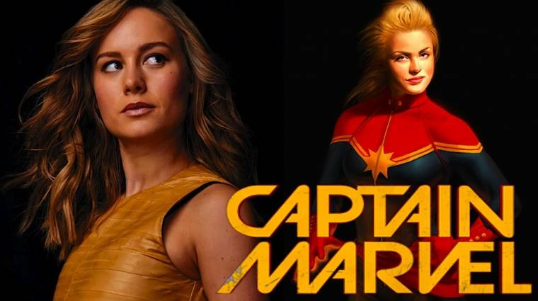 Brie Larson lehet Captain Marvel kép