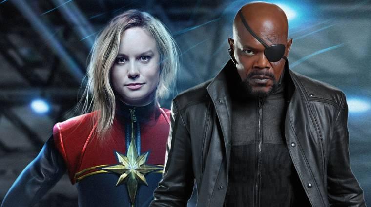 Véget ért a Captain Marvel forgatása, de bőven lesz még mit csinálni rajta kép