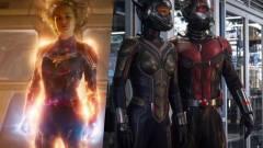Ekkortól foroghat a Marvel Kapitány 2. és a Hangya 3. kép
