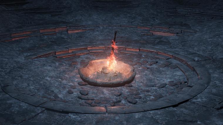 Dark Souls III - eredetileg szinte bárhova lerakhattunk volna tábortüzeket bevezetőkép