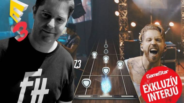 E3 2015 - exkluzív Guitar Hero Live interjú bevezetőkép