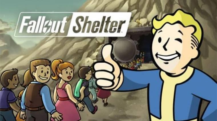 Konzolra jön a Fallout Shelter bevezetőkép