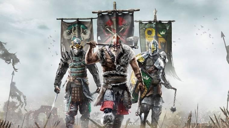 E3 2015 - bemutatkozott a Ubisoft legújabb játéka, a For Honor  bevezetőkép
