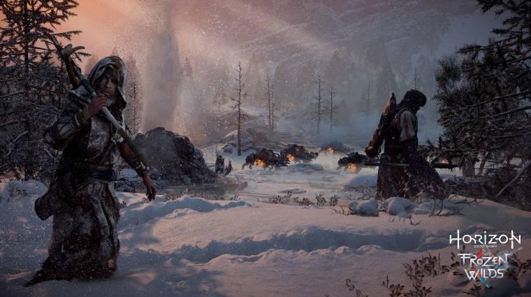 Horizon Zero Dawn: The Frozen Wilds - pörgős launch trailert kaptunk bevezetőkép
