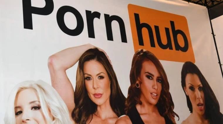 Megint beperelték a Pornhubot, az oldal egyesek szerint bűnszervezet módjára működik kép