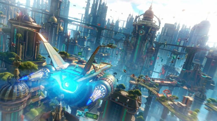 Ratchet & Clank - érdekes csavarral érkezik a PS4-es változat sztorija (videó) bevezetőkép