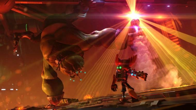 Ratchet & Clank tesztek - megéri felülni a nosztalgiavonatra? bevezetőkép
