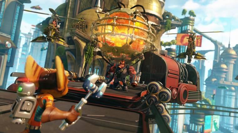 Ratchet & Clank - hét perc kamerás gameplay érkezett a PlayStation Experience-ről (videó) bevezetőkép