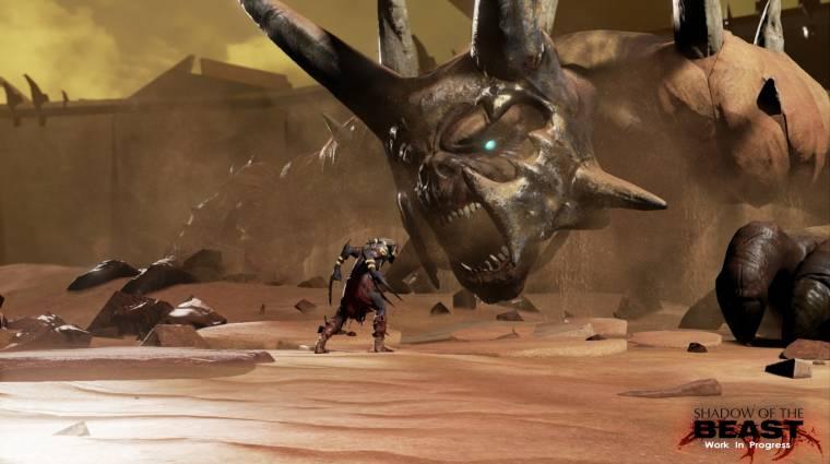 Új gameplay videón a Shadow of the Beast reboot bevezetőkép