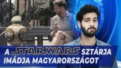 Napi büntetés: a Star Wars sztárja botrányos múltja után hazánkban kezdett új életet kép