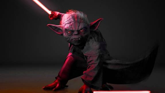A Star Wars: Knights of the Old Republic 2-ben eredetileg egy Yoda fajába tartozó sith is szerepelt volna kép