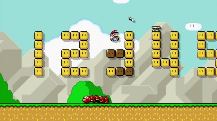 Super Mario Maker - valaki épített benne egy működő számológépet bevezetőkép