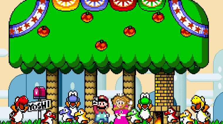 Super Mario World - sikerült bekötözött szemmel végigvinni bevezetőkép