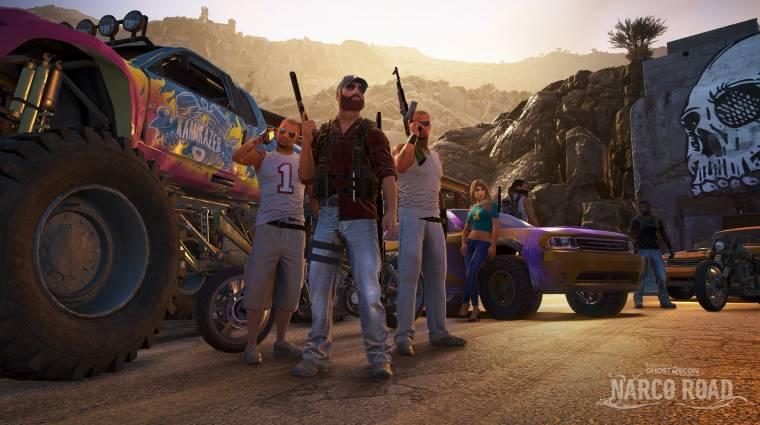 Tom Clancy's Ghost Recon Wildlands - bulizós traileren a Narco Road DLC bevezetőkép