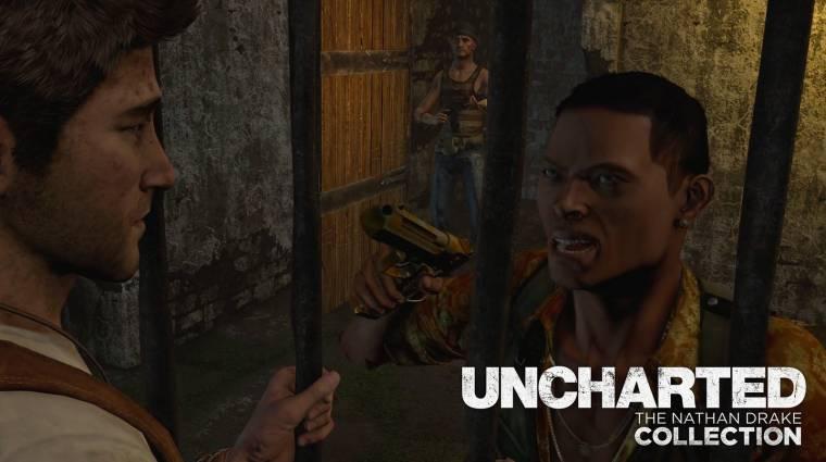 Uncharted: The Nathan Drake Collection - tíz perc az első játékból bevezetőkép