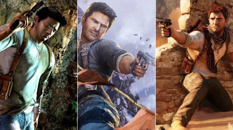 Uncharted: The Nathan Drake Collection tesztek - három az egyben megéri? bevezetőkép