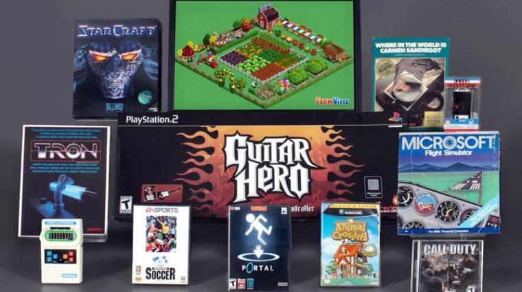 Három játékkal is bővült a videojátékok hírességeinek csarnoka bevezetőkép