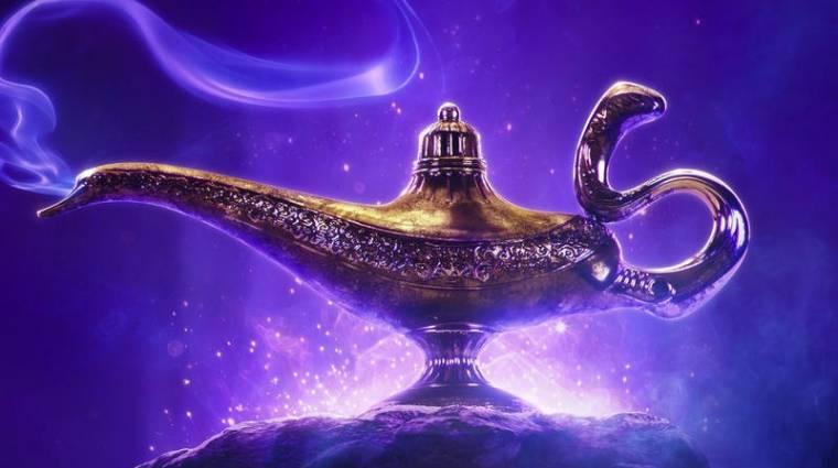 Itt az élőszereplős Aladdin első előzetese kép