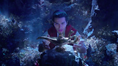 Aladdin - nyugalom, Dzsini kék lesz