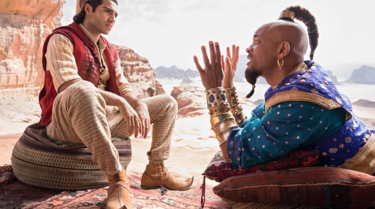 Úgy néz ki, hogy tényleg elkészül az élőszereplős Aladdin folytatása kép