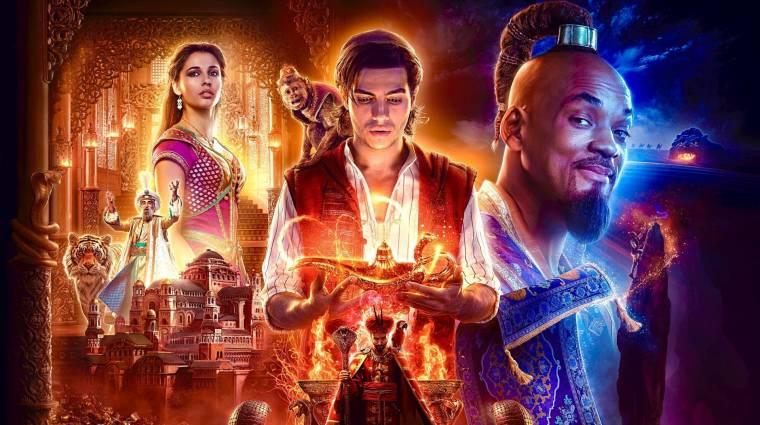 Lesz élőszereplős Aladdin 2, a színészek és a rendező is visszatérnek bevezetőkép