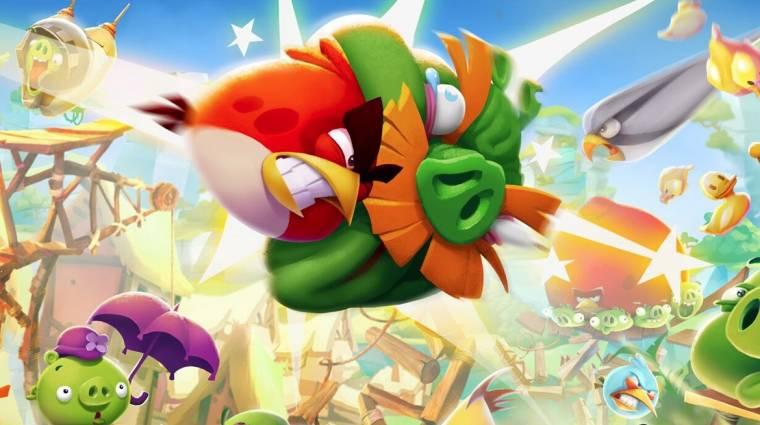 Kevesebb mint felére csökkent az Angry Birds alkotóinak piaci értéke bevezetőkép
