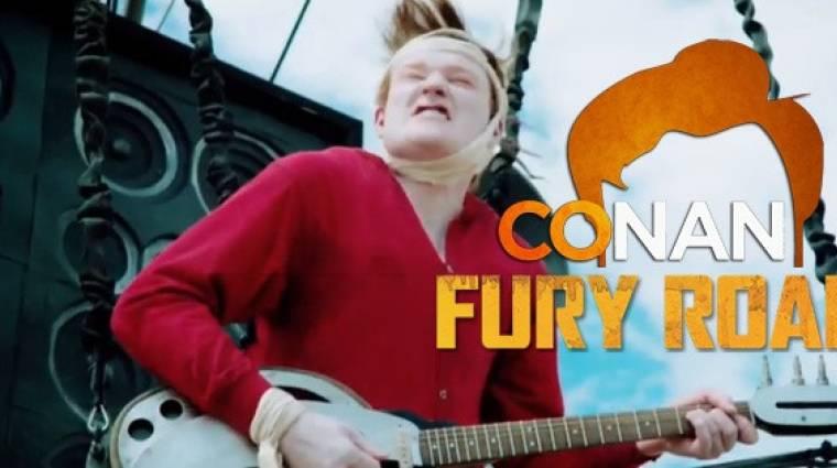 Zseniális Conan O'Brien Comic-Conos belépője bevezetőkép