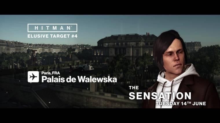 Hitman - vadászható a negyedik Elusive Target bevezetőkép
