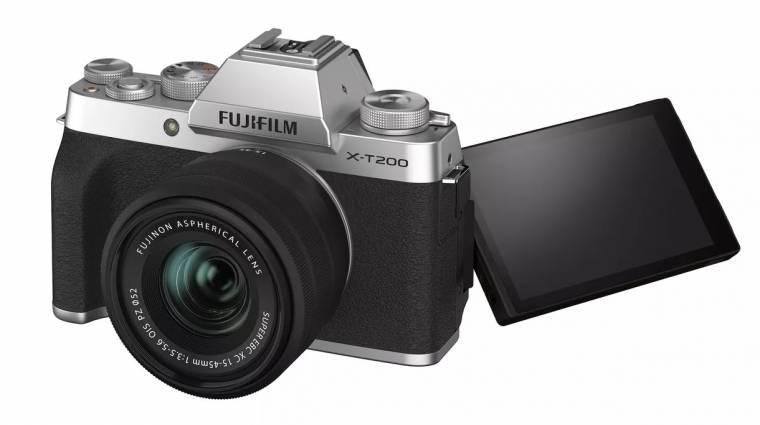Videózáshoz is ideális a Fujifilm X-T200 fényképezőgépe kép