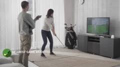 Ezzel a szimulátorral golfpálya lesz a nappalidból kép