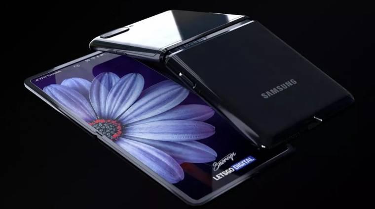 Tényleg ultravékony védőüveget kap a Samsung Galaxy Z Flip kép