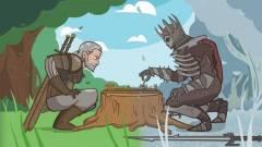The Witcher 3: Wild Hunt paródia - Geralt nem a nők bálványa kép