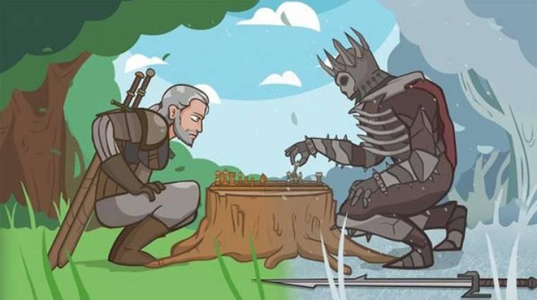 The Witcher 3: Wild Hunt paródia - Geralt nem a nők bálványa bevezetőkép