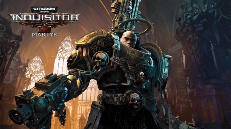 Gamescom 2015 - a Warhammer 40,000: Inquisitor - Martyr olyan lesz, mint semmi más bevezetőkép