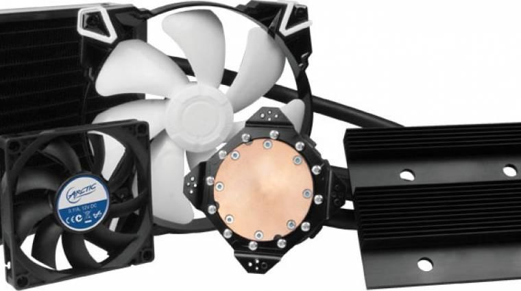VGA hűtés mesterfokon, hibrid megoldással kép