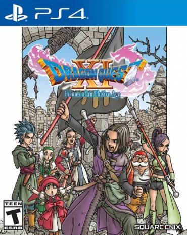 Dragon Quest XI: Echoes of an Elusive Age kép