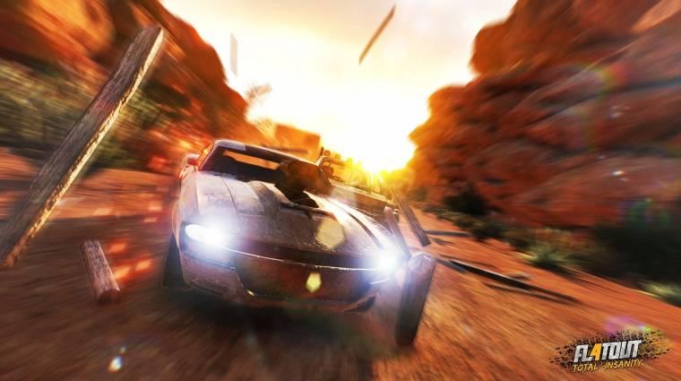 Flatout 4: Total Insanity - újabb traileren az autós őrület bevezetőkép